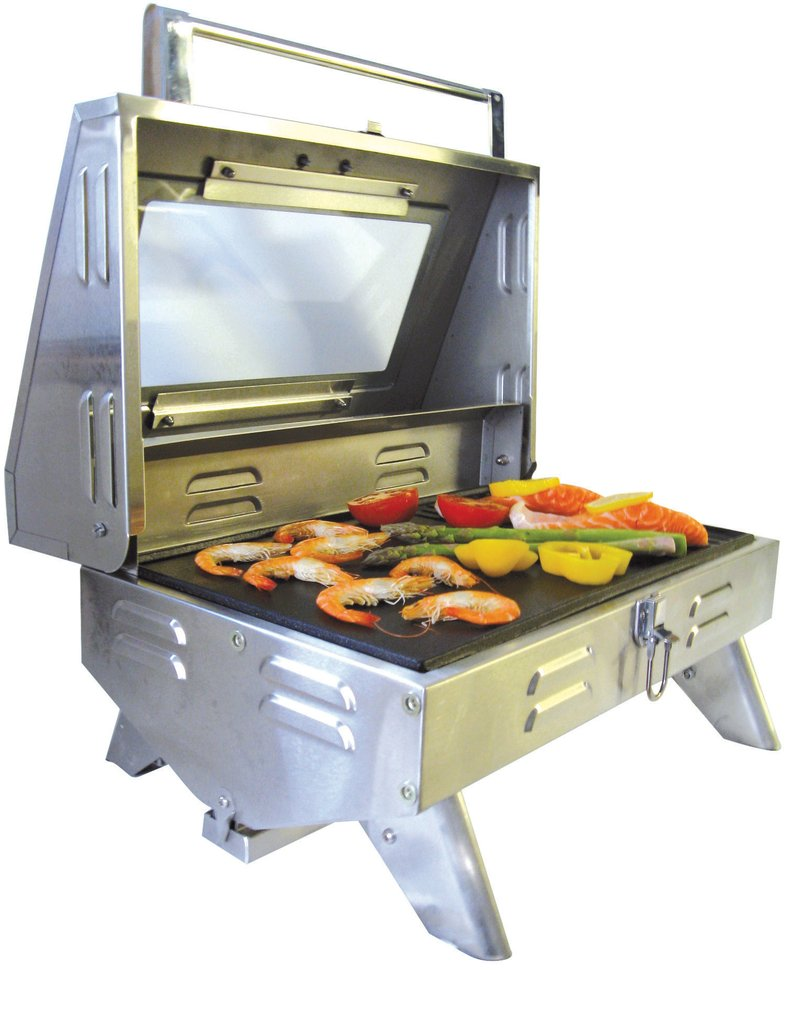 Gasmate Voyager Portable Gas Bbq Review kiwi sizzler solid top bbq